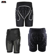 WOSAWE Motorcycle Shorts Ski Snowboard Protective Gear Hip Butt Pad Sports Extreme MTB Bike Armor Motocross Padded
