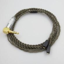 Odpinany kabel słuchawek dla Ultimate Ears UE TF10 TF15 5PRO SF3 0.75mm słuchawki wymiana kabli