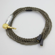 انفصال سماعة كابل ل آذان في نهاية المطاف UE TF10 TF15 5PRO SF3 0.75 مللي متر سماعات استبدال الكابلات