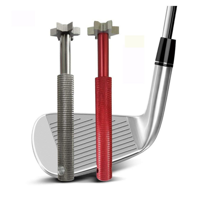 Golf Club Grooving Sharpening Tool Golf Club Sharpener Head Strong Wedge Alloy Wedge Golf Accessories GMT601