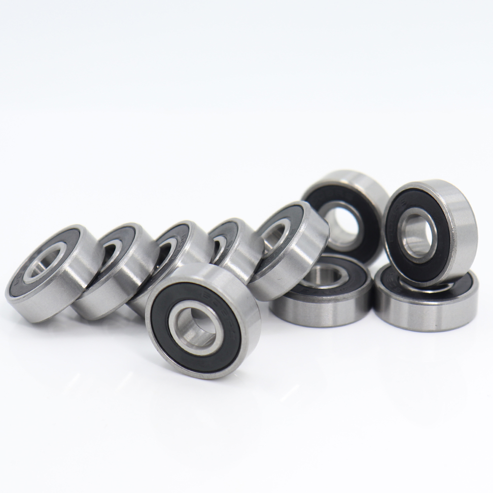 608RS Bearing 8*22*7 Mm ( 10 PCS )  Skateboard Scooter 608 2RS Ball Bearing Miniature Skate Roller 608-2RS 608 RS Bearings
