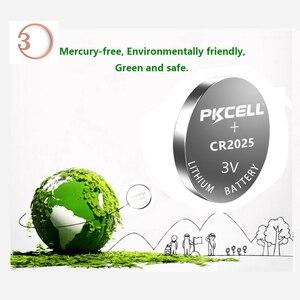 Image 4 - Batería de litio BR2025 ECR2025 CR 2025, botón de batería, celda de moneda, cr2025 3v, 40 Uds.