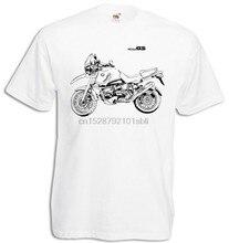 2018 mode R1100Gs T Shirt Mit Grafik R 1100Gs Motorcycyle Rally R 1100 Gs Motorrad Fahrer T Hemd 017328