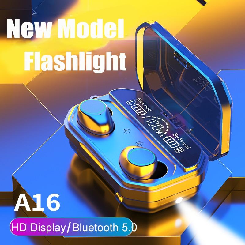 TWS V5.1 Bluetooth-наушники; Беспроводные наушники; Стереонаушники; Спортивные наушники; HD гарнитура светодиодный ным дисплеем и микрофоном; Фонари...