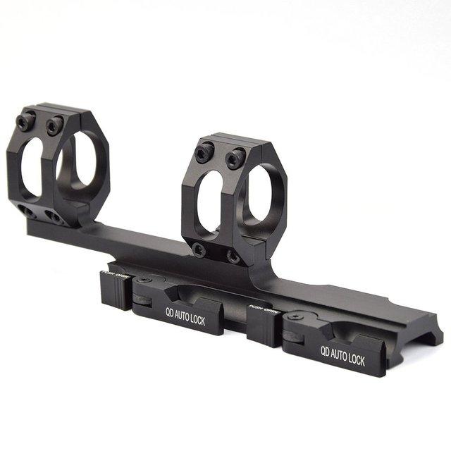 QD Auto Schnell Release Zielfernrohr Montieren Ringe 30mm/25mm Cantilever für 20mm Picatinny Schiene Optik
