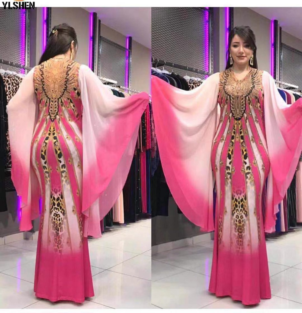 New African Dresses for Women Dashiki Print African Clothes Bazin Riche Sexy Slim Ruffle Sleeve Long Africa Maxi Dress Woman 28