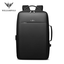Brand Enlarge Backpack USB External Charge 15.6 Inch Laptop