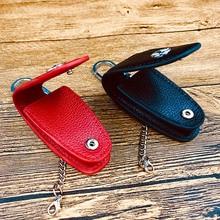 New Arrival leather car Key Case key holder bag for MERCEDES BENZ GLC260L C200L GLE/B200 gla/cla remote High quality