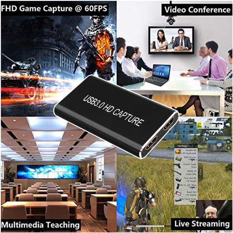 1080 p 60fps adaptador de jogo com