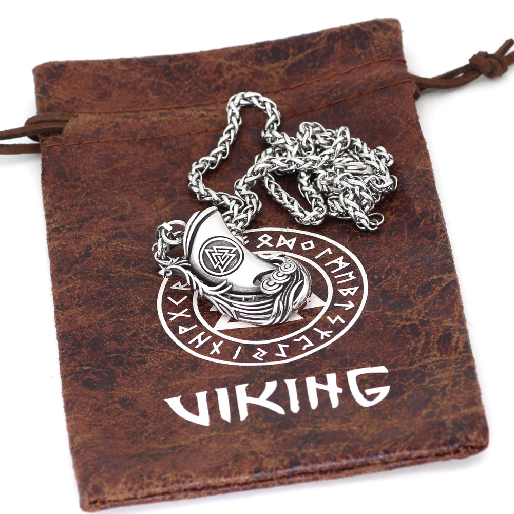 Collier Viking drakkar 6