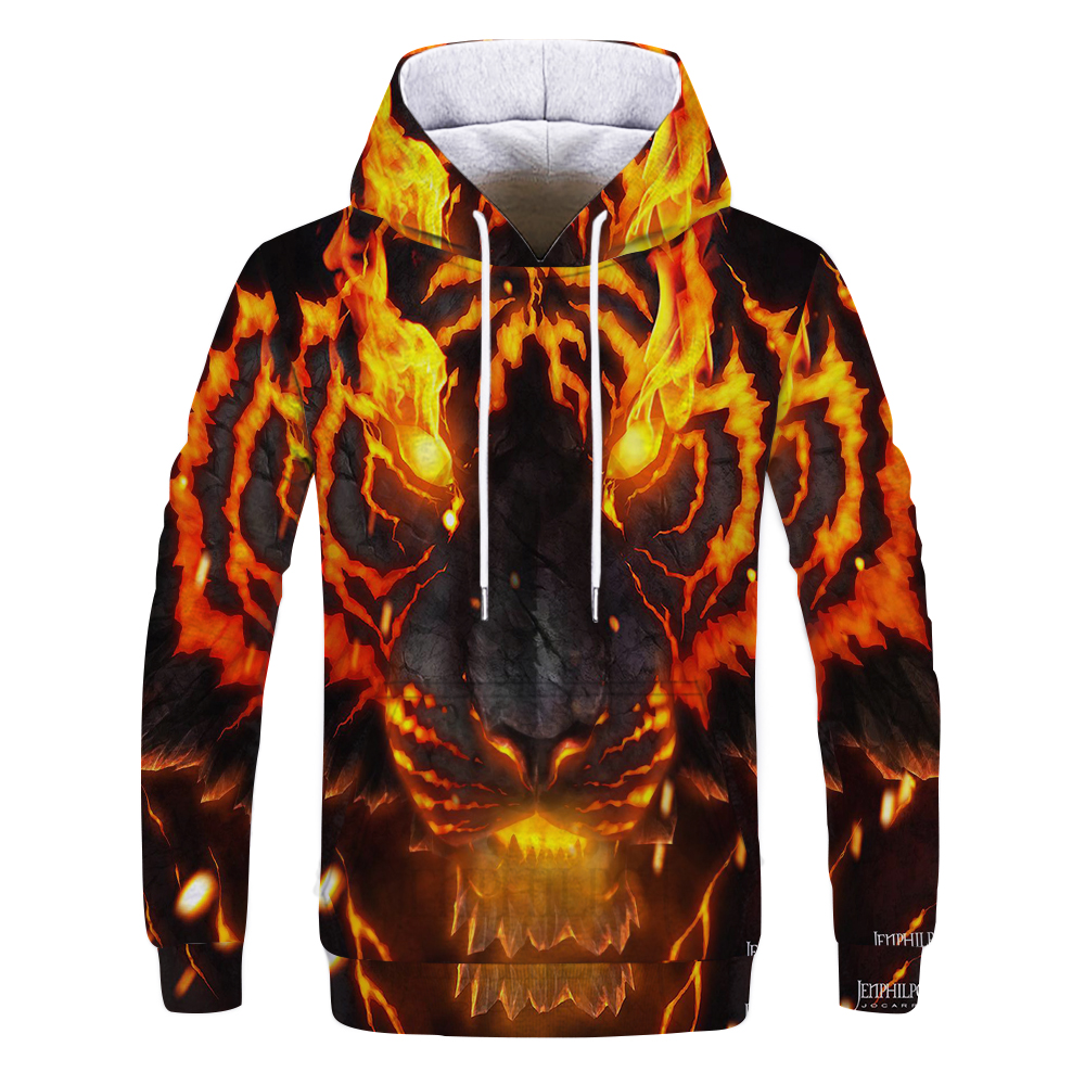 Autumn hoodie Style tiger dragon 3D Printed Men sweatshirt casual Harajuku Pullover funny animal streetwear Quality hoodies Tops
