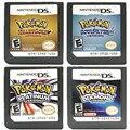 Pokemon Serie diamant Coeur Oder Perle Platine SoulSilver DS Nintendo Kartusche De jeu Konsole Carte Anglais Gießen DS 3DS 2DS NDS