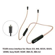 Bluetooth 5.0 Aptx Ll Upgrade Kabel Mmcx 0.78 Mm 2pin A2dc Ie80 IM40 Connector Waterdichte Zuurstofvrij Koper Upgrade kabel