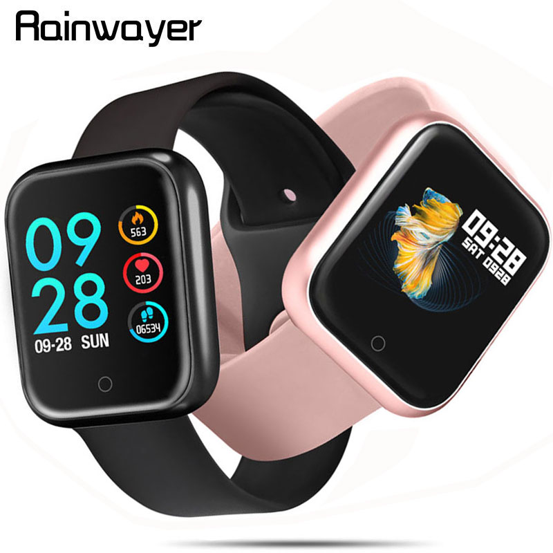 Y68 Smart Watch Waterproof Bluetooth Blood Pressure Fitness Tracker Heart Rate Monitor Smartwatch For Apple IOS Android