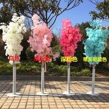 Accessoire de mariage en fleurs de cerisier, arbre de souhaits, fournitures décoratives pour Site de mariage, Art du fer