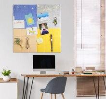30x30cm Felt Cloth Display Board Home Decor Photo Schedule Work Study Plan Message Bulletin Office Wall Sticker