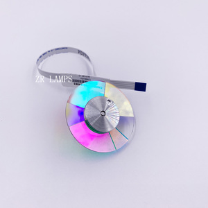 Image 3 - ZR Original nouveau projecteur couleur roue roue de couleur pour OPTOMA HD26 HD141X VDHDNL DH1008 DH1009 GT1070 GT1080 projecteur