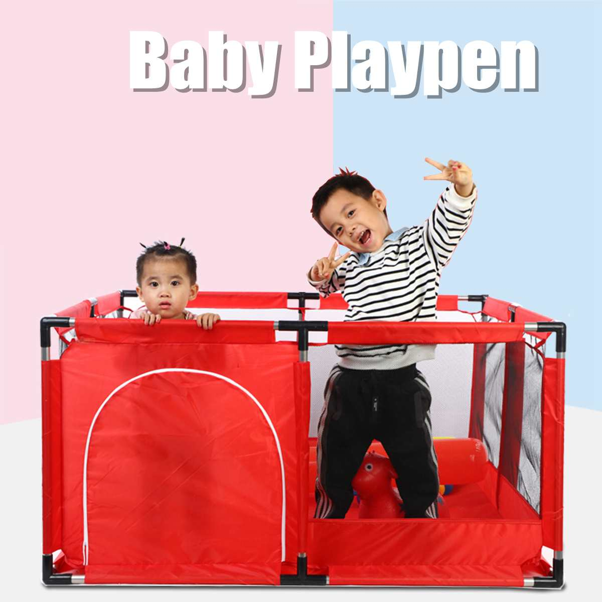 Bioby <font><b>Baby</b></font> Playpen For Children <font><b>Pool</b></font> <font><b>Balls</b></font> For Newborn <font><b>Baby</b></font> Fence Playpen For <font><b>Baby</b></font> <font><b>Pool</b></font> Children Playpen Kids Safety Barrier image