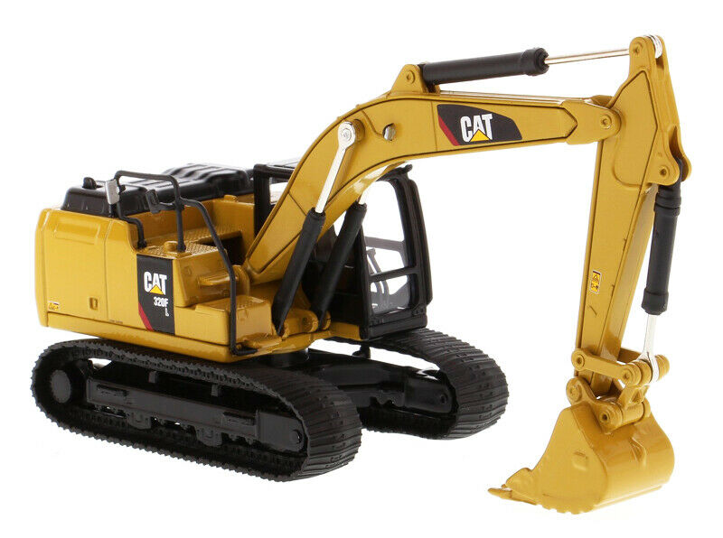 1/64 Caterpillar CAT 320F L Hydraulic Excavator Diecast Construction Vehicle Toy