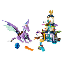 цена на Bela Elves The Dragon Sanctuary Building Bricks Blocks DIY Educational Toys Compatible with Lepining Friends