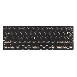 Механическая клавиатура DZ60 на заказ, печатная плата 60%, клавиатура с поддержкой клавиши со стрелкой, пластина из alu, переключатель gateron, stab