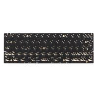 DZ60 Custom mechanical keyboard PCB 60% keyboard support arrow key alu plate gateron switch stab|mechanical keyboard pcb|mechanical keyboard|gateron switch -