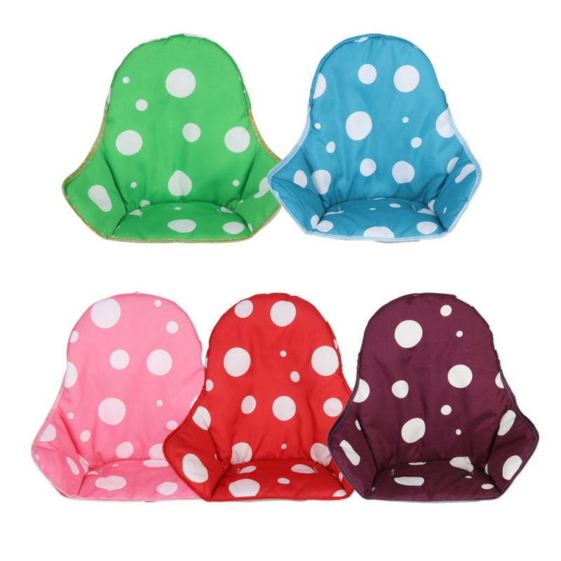 1PC Infant Baby Kids Children Oxford Cloth Sponge High Chair Cushion Cover Booster Comfortable Feeding And Stroller Seat Cushion