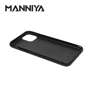 Image 2 - MANNIYA per iphone 11/11 Pro/11 Pro Max Sublimazione in bianco TPU + PC di gomma Cassa del telefono bianco con inserti In Alluminio 100 pz/lotto