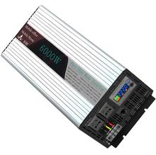 цена на High Quality PSW Pure Sine Wave DC 24V/48V to AC 110V/220V 6000W Peak 12000 Watt Power Inverter
