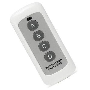 Image 1 - Interruptor de luz de Control remoto de 4 canales, 433MHz, transmisor de código de aprendizaje 1527, llave Fob inalámbrica para abridor de puerta de garaje H4