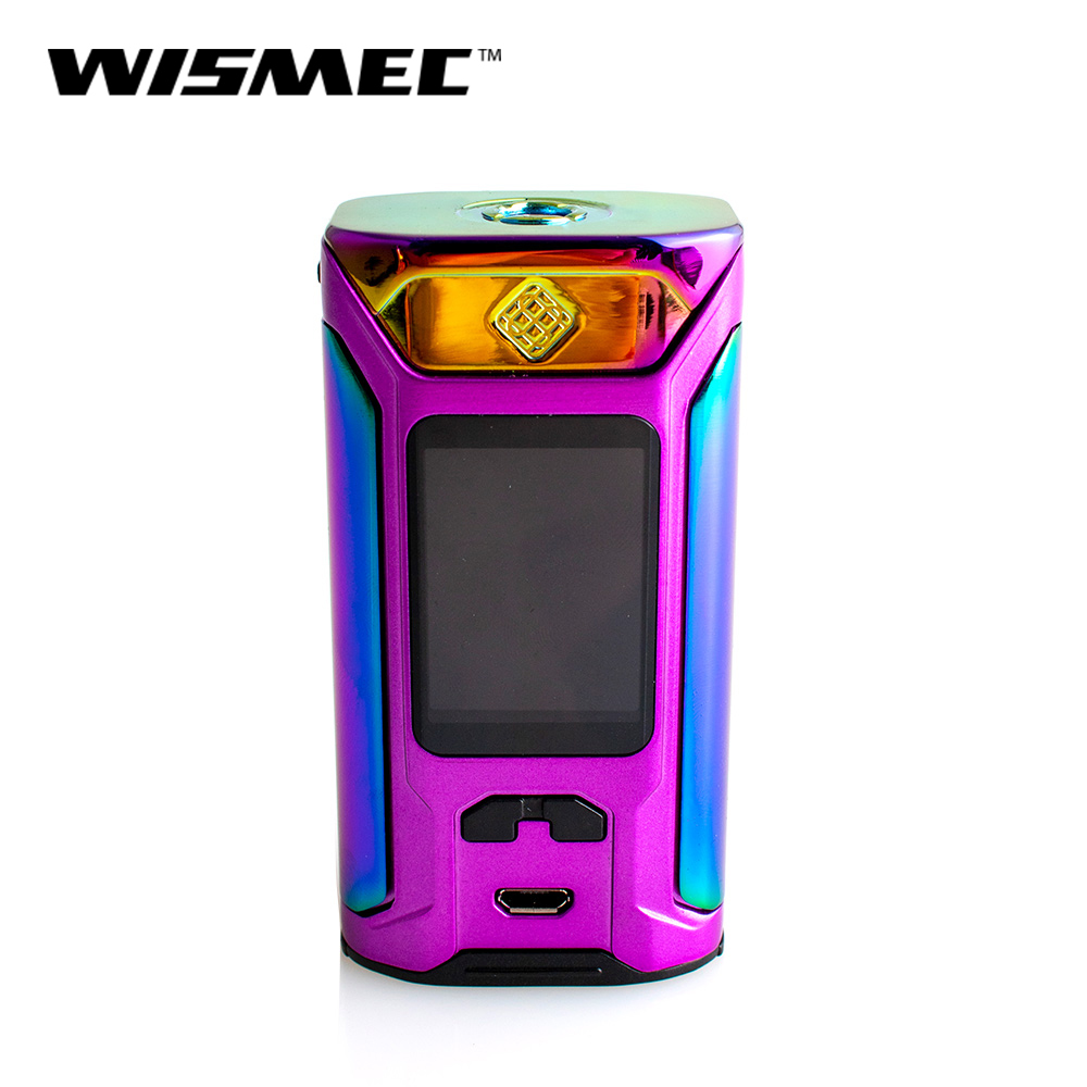 Original 230w Wismec SINUOUS RAVAGE230 Box Mod Output RAVAGE 230 GNOME King Battery Vape Box Mod E-Cigarette