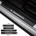 4 шт., кожаные наклейки из углеродного волокна для BMW 1 3 5 7 серии X1 X3 X4 X5 X6 X7 F15 F16 F30 F31 F48 G30 E39 E70