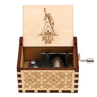 Гравировка ручной работы деревянная Настя музыкальная копилка подарок на день рождения на Рождество, дочь, подарки на день рождения для влюбленных - Цвет: QUEEN 05