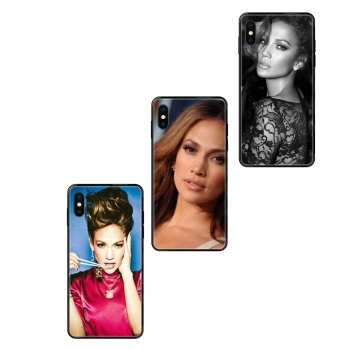 Black Soft TPU Cases Capa Cover Coolest Usa Pop Star Sexy Jennifer Lopez Pattern For Xiaomi Mi Note A1 A2 A3 5 5s 6 8 9 10 SE image