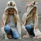 Unicorn Hooded Scarf...