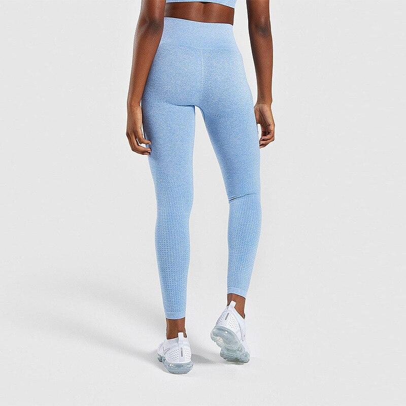 de fitness feminino de cintura alta correndo