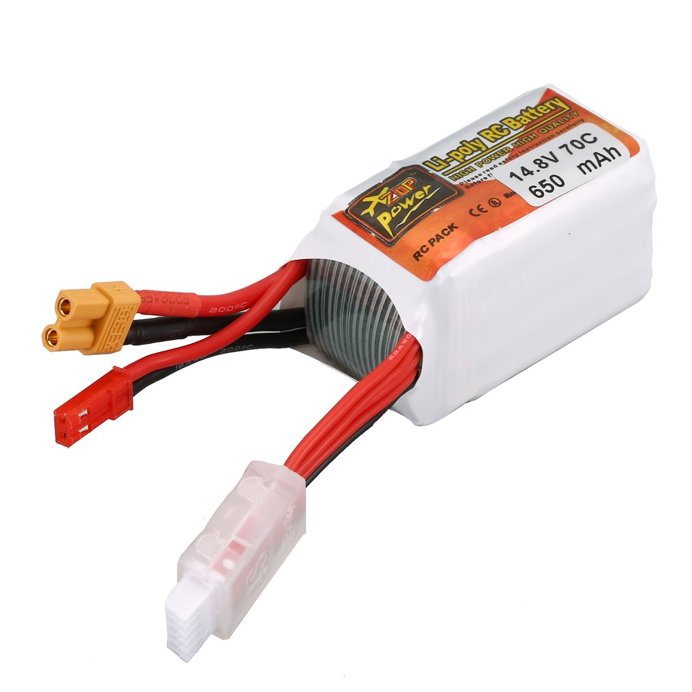 ZOP Power <font><b>650MAH</b></font> 11.1V/14.8V 70C <font><b>3S</b></font>/4S XT30 Plug <font><b>Lipo</b></font> Battery Rechargeable Battery for RC Racing RC Drone Helicopter RC Car Boat image