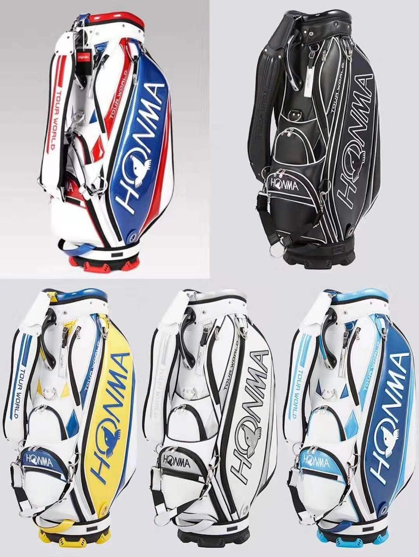 New Golf Bag HONMA Golf Clubs Bag In Choice 9.inch Golf Standard Bag Standard Ball Package Golf Cart Bag Free Shipping