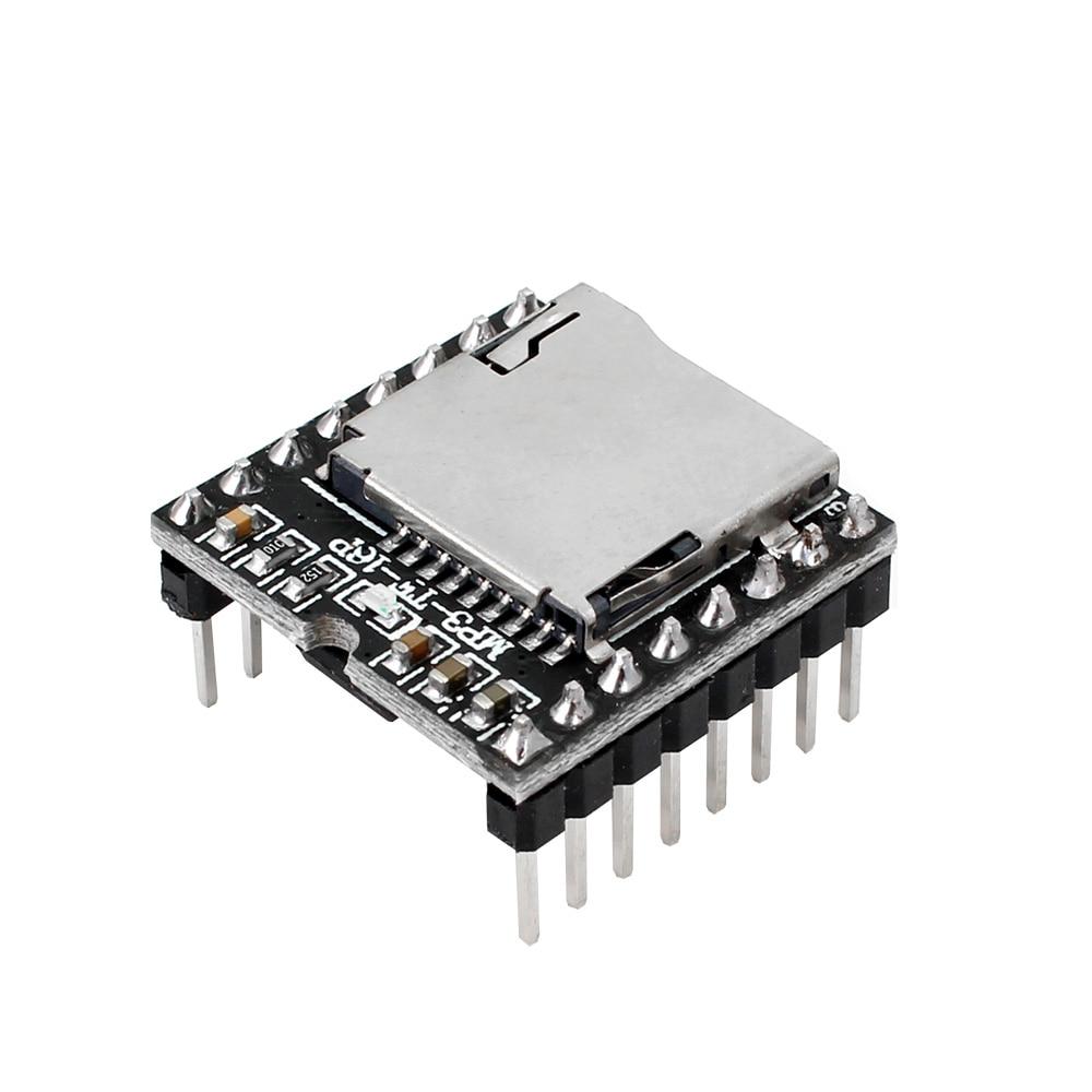 TF карта U диск мини MP3 DFPlayer аудио голосовой модуль плата для Arduino DFPlay опт плеер title=
