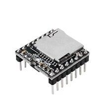 TF Card U Disk Mini MP3 DFPlayer module, scheda modulo Audio vocale, decodifica MP3, WAV, WMAs, per Arduino DFPlay lettore allingrosso