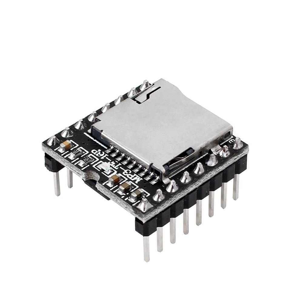 Tf 카드 u 디스크 미니 mp3 dfplayer 오디오 음성 모듈 보드 arduino dfplay 도매 플레이어