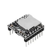 TfカードuディスクミニMP3 dfplayerモジュール、オーディオ音声モジュールボード、デコードMP3、wav、wmaの、arduinoのためのdfplay卸売プレーヤー