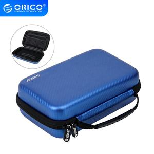 ORICO 3.5 Hard Disk Case Portable Power bank HDD Protection Bag EVA Shockproof for External 3.5 inch Hard Drive Earphone U Disk