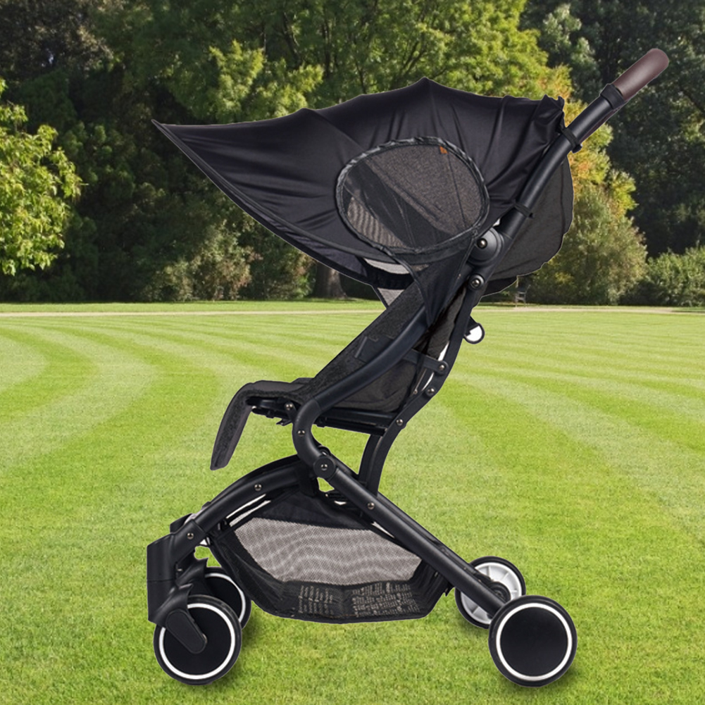 Stroller UV-resistant Awning Universal Detachable Stroller Awning Sunshade Windproof Sun-proof Stroller Accessories