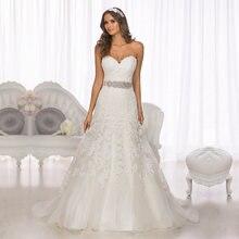 Кружевное Свадебное платье; Коллекция 2016 года; Длина до пола;