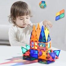 Magnetische Blöcke Für Kinder 2 Zu 4 Jahre Alten Fliesen Transparentes Magnetische Konstruktor Bausteine Spielzeug Für Jungen Magnet Spiel geschenk