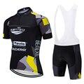 Новинка  черная велосипедная команда Сан-Марка  Джерси 20D  велосипедные Шорты Ropa Ciclismo  мужские летние быстросохнущие pro трикотаж для велосип...