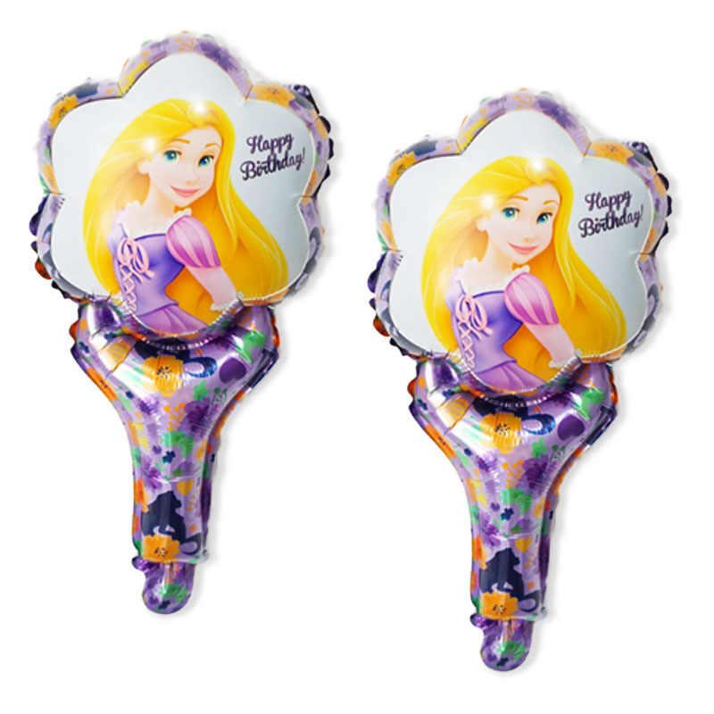 (20 sztuk/partia) balony na imprezę ręcznie styl spiderman hulk spongebob mickey roszpunka belle elsa nemo balon na balony urodzinowe
