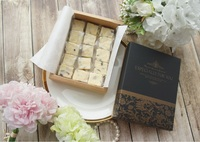 12.2*16.2*4cm Elegant black yellow flower Chocolate candy Paper Box Party wedding Gifts Packing Box 100pcs/lot Free shipping.