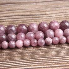 Ланьли модные натуральный ювелирные изделия из жемчуга Ziyun мать камень свободные бусины, диаметр- 6/8/10 мм DIY браслет для женщин ожерелье серьги аксессуары